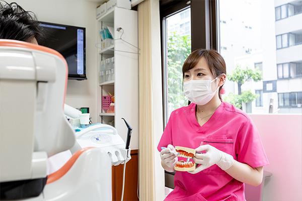 歯科技工士と密に連携して詰め物・被せ物をご提供